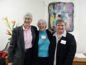 Mariamne Whatley, Judith Leavitt, Nancy Worcester